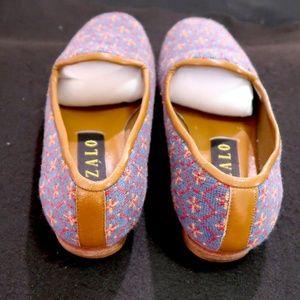 Zalo Shoes - Zalo Vintage Needlepoint Embroidered Loafers 7